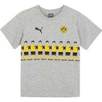 BVB Fan Line Up T-Shirt - Light Grey - Kids