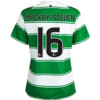 Celtic Home Shirt 2015/16 - Womens White with Mackay-Steven 16 printing