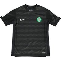 Celtic Squad Short Sleeve Pre Match Top - Kids Black