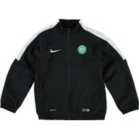 Celtic Squad Sideline Woven Jacket - Kids Black