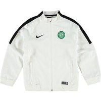 Celtic Squad Sideline Woven Jacket - Kids White