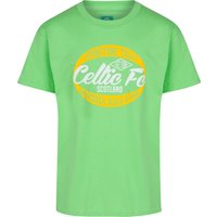 Celtic Slogan T-Shirt - Lime - Boys