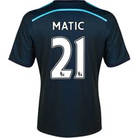 Chelsea Third Shirt 2014/15 with Matic 21 printing