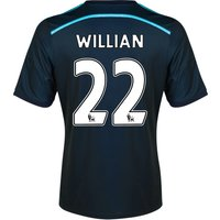 Chelsea Third Shirt 2014/15 with Willian 22 printing