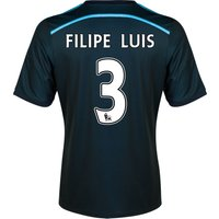 Chelsea Third Shirt 2014/15 with FILIPE LUIS 3 printing