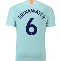 Chelsea Third Vapor Match Shirt 2018-19 with Drinkwater 6 printing