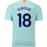 Chelsea Third Vapor Match Shirt 2018-19 with Giroud 18 printing