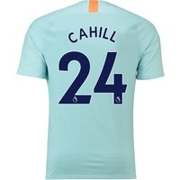 Chelsea Third Vapor Match Shirt 2018-19 with Cahill 24 printing