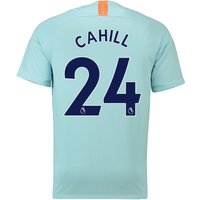 Chelsea Third Stadium Shirt 2018-19 with Cahill 24 printing