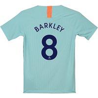 Chelsea Third Stadium Shirt 2018-19 - Kids with Barkley 8 printing
