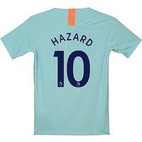 Chelsea Third Stadium Shirt 2018-19 - Kids with Hazard 10 printing