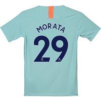 Chelsea Third Stadium Shirt 2018-19 - Kids with Morata 29 printing