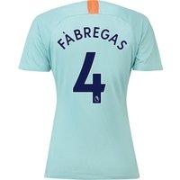 Chelsea Third Stadium Shirt 2018-19 - Womens with Fàbregas 4 printing