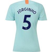 Chelsea Third Stadium Shirt 2018-19 - Womens with Jorginho 5 printing