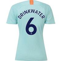 Chelsea Third Stadium Shirt 2018-19 - Womens with Drinkwater 6 printing