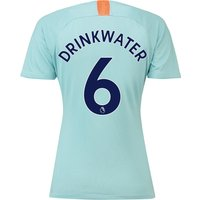 Chelsea Third Stadium Shirt 2018-19 - Womens with Drinkwater 6 printing