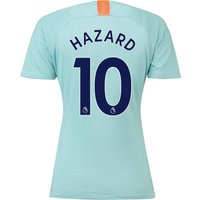 Chelsea Third Stadium Shirt 2018-19 - Womens with Hazard 10 printing