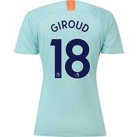 Chelsea Third Stadium Shirt 2018-19 - Womens with Giroud 18 printing