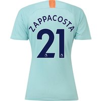 Chelsea Third Stadium Shirt 2018-19 - Womens with Zappacosta 21 printing