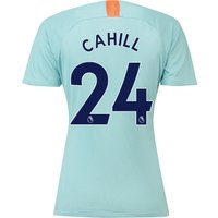 Chelsea Third Stadium Shirt 2018-19 - Womens with Cahill 24 printing