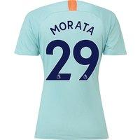 Chelsea Third Stadium Shirt 2018-19 - Womens with Morata 29 printing