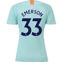 Chelsea Third Stadium Shirt 2018-19 - Womens with Emerson 33 printing