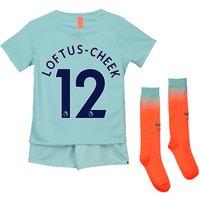 Chelsea Third Stadium Kit 2018-19 - Little Kids with Loftus-Cheek 12 printing