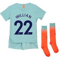 Chelsea Third Stadium Kit 2018-19 - Little Kids with Willian 22 printing