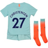 Chelsea Third Stadium Kit 2018-19 - Little Kids with Christensen 27 printing