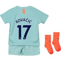 Chelsea Third Stadium Kit 2018-19 - Infants with Kovacic  17 printing