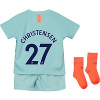 Chelsea Third Stadium Kit 2018-19 - Infants with Christensen 27 printing