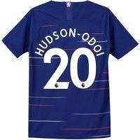 Chelsea Home Stadium Shirt 2018-19 - Kids with Hudson-Odoi 20 printing