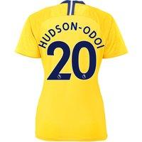 Chelsea Away Stadium Shirt 2018-19 - Womens with Hudson-Odoi 20 printing