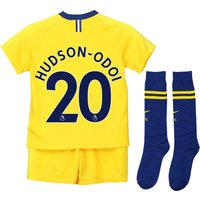 Chelsea Away Stadium Kit 2018-19 - Little Kids with Hudson-Odoi 20 printing