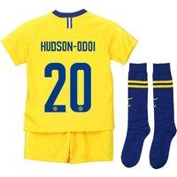 Chelsea Away Cup Stadium Kit 2018-19 - Little Kids with Hudson-Odoi 20 printing