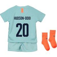 Chelsea Third Cup Stadium Kit 2018-19 - Infants with Hudson-Odoi 20 printing