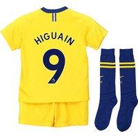 Chelsea Away Stadium Kit 2018-19 - Little Kids with Higuain 9 printing