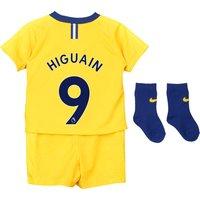 Chelsea Away Stadium Kit 2018-19 - Infants with Higuain 9 printing