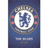 Chelsea Crest Poster - 61 x 92cm