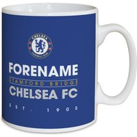 Chelsea Personalised Crest Mug