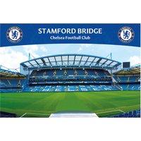 Chelsea Stamford Bridge Stadium Poster - 61 x 92cm