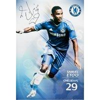 Chelsea 2013/14 Eto`o Poster - 61 x 92cm