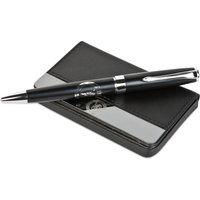 Chelsea Business Card Holder & Pen Set