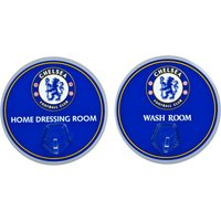 Chelsea Metal Sign with Hook - 2 Pack