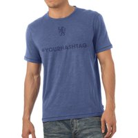 Chelsea Personalised Hashtag T-Shirt Blue