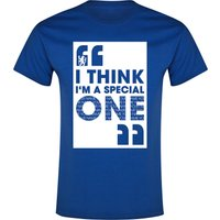 Chelsea Personalised Special One T-Shirt Blue