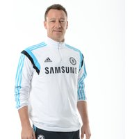 Chelsea Training Long Sleeve Top White