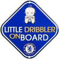 Chelsea Car Little Dribbler On Board Sign