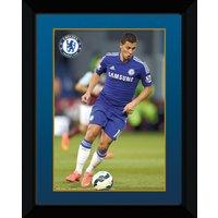 Chelsea 2014/15 Hazard Framed Print - 8 x 6 Inch
