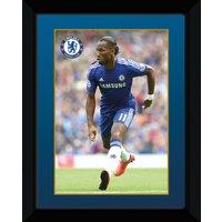 Chelsea 2014/15 Drogba Framed Print - 8 x 6 Inch
